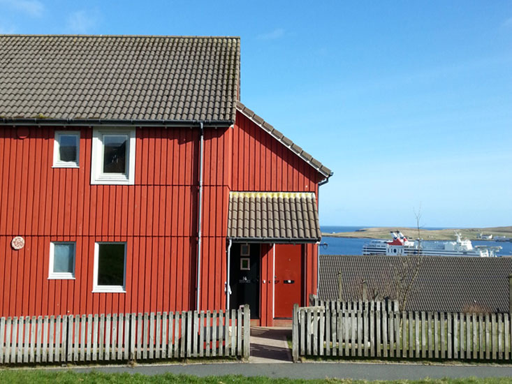 Image of the outside of the Stocketgaet property